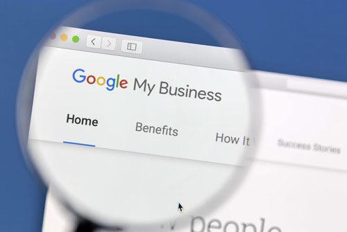¿Qué es Google My Business Website builder?