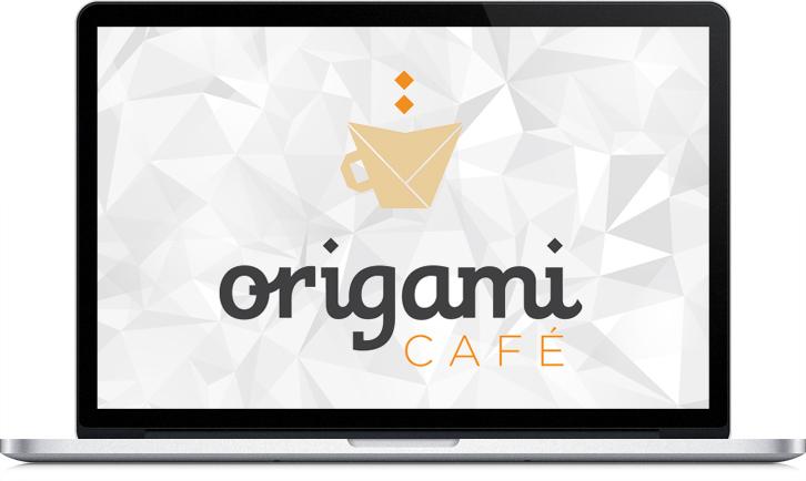 Diseño de la imagen corporativa de Origami Café