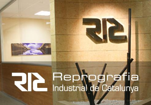 Diseño de la página Web para Reprografia Industrial de Catalunya RIC