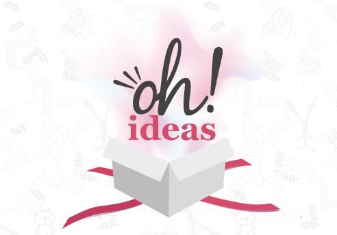 Diseno de la página Web 2.0 y Redes Sociales para Oh! Ideas