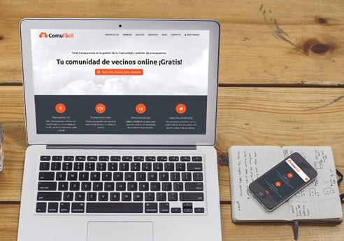 Diseño de la página Web y aplicación móvil para Comufácil