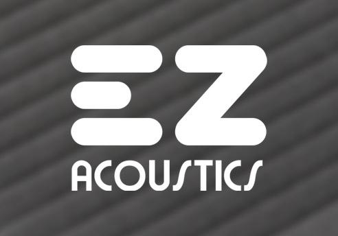 Diseño de la imagen corporativa de EZ Acoustics