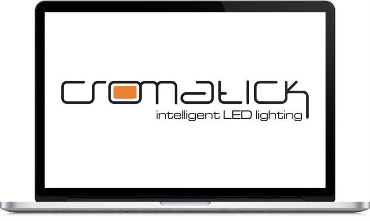 Diseño de la imagen corporativa de Cromatick