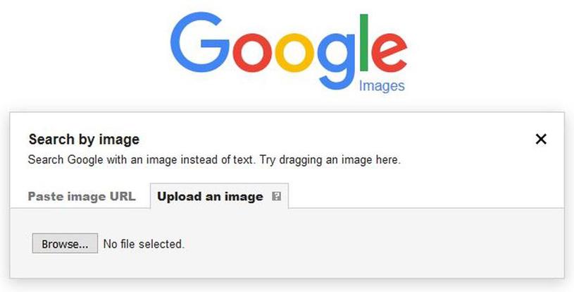 Búsqueda invertida con Google Images