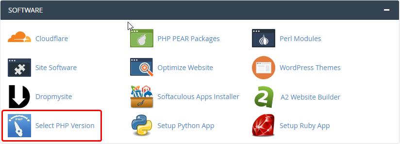 Cómo actualizar la versión de PHP según cPanel