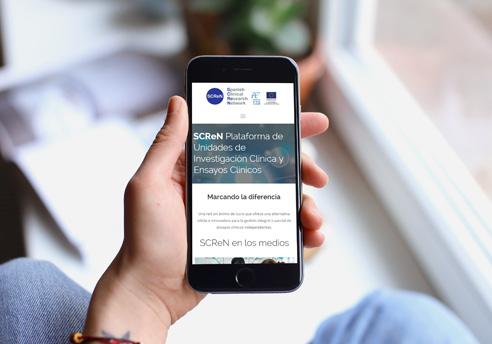 Diseño responsive de la página Web de SCReN