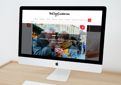 Rediseño de la página web, creación de nuevas funcionalidades y optimización WPO + SEO