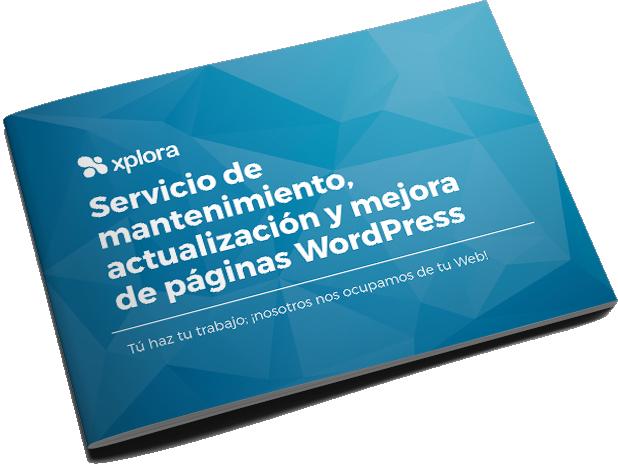 Dossier de mantenimiento y actualización de páginas WordPress