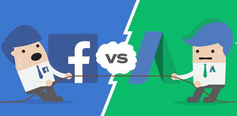 ¿Es mejor Google Ads o Facebook Ads?