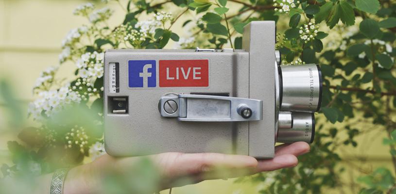 Transmisión de vídeo a tiempo real con Facebook Live